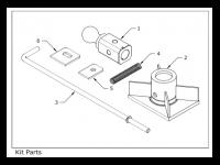 B&W Flat Bed Kit - BWH 1500