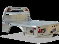 CM Aluminum Skirted Bed - - CMB SK-AL