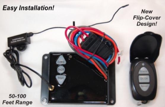 Dump Trailer Remote for G3-H01 Wireless Remote Dump Trailer Control Systems