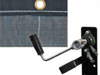 6-1/2' x 18' Mesh Tarp and Hardware Kit - DTR6518