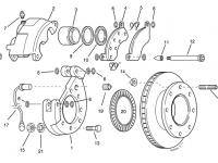 Disc Brake Hub - 10K / 12K Disc