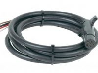 6 Pole Round Molded Trailer Cable 8 ft. - 20036