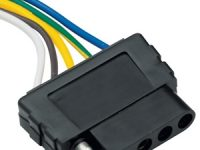 5-way Car End Flat Plug - 118016