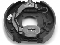 """12.25"""" Electric Brake RH - cast backing plate (after May 2000) - K23-429-00"""