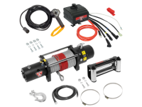 9,000# Electric Winch w/ Rope - RES 500424