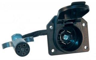 6-way to 7-way Plug Adapter - 47435